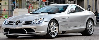 Mercedes-Benz SLR McLaren Grand tourer jointly developed by Mercedes-Benz and McLaren Automotive