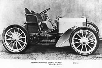 Mercedes 35 hp - Image: Mercedes 35hp by Wilhelm Maybach