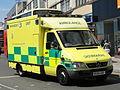 Mercedes Ambulance licence registration 'RX54 GGF' pic1.JPG