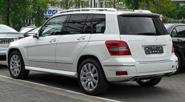 Mercedes GLK 350 CDI 4MATIC rear 20100508.jpg