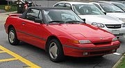 1991-1994 Mercury Capri, the badge-engineered version sold in North America.