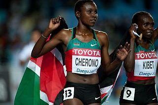 Sylvia Jebiwott Kibet Kenyan long-distance runner