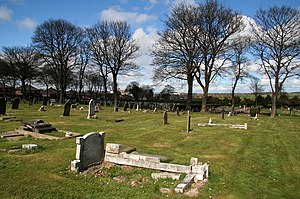 Fulwell, Sunderland - Image: Mere Knolls Cemetery geograph.org.uk 1234789
