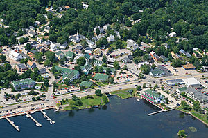 Meredith, New Hampshire - Image: Meredith aerial