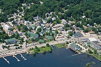 Meredith, New Hampshire - Image: Meredith aerial