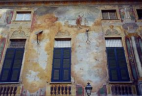 Le meridiane di Palazzo Negroni, realizzate durante il periodo della Repubblica Ligure.
