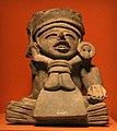 Messico, zapotec, urna ceramica con ritratto di cocijo, dallo stato di oxaca, 200-800 dc ca. 05.jpg