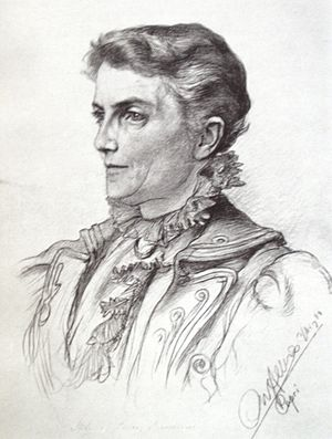 Meta von Salis - Meta von Salis in the 1890s