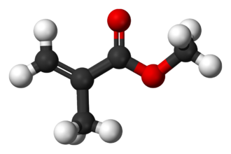 Methyl methacrylate - Image: Methyl methacrylate 3D balls