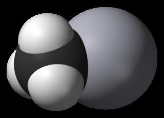 Methylmercury cation