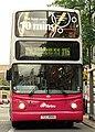 Metro (Belfast) bus 2950 (TCZ 9950) 2003 Volvo B7TL Transbus ALX400, 6 July 2009.jpg