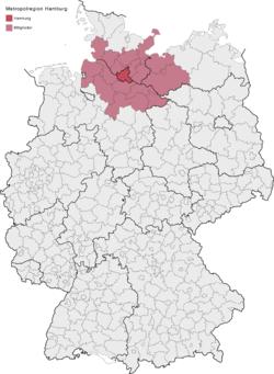 karta nemacke hamburg Hamburgs storstadsregion – Wikipedia karta nemacke hamburg