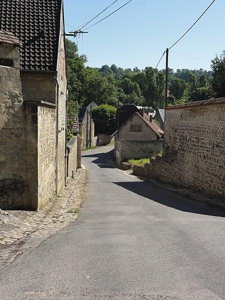 Meurival (Aisne) rue principale