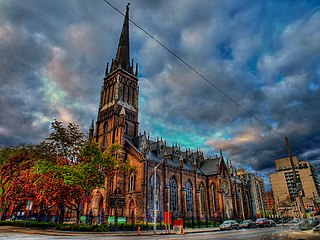 St. Michaels Cathedral Basilica (Toronto) Church in Ontario, Canada