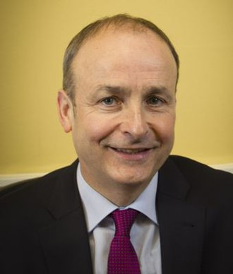 Leader of Fianna Fáil - Image: Micheal Martin (official portrait)