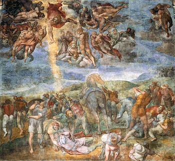 Conversione di saulo-1542 - Michelangelo