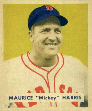 Mickey Harris - Image: Mickey Harris 1949bowman