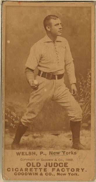 Mickey Welch - Image: Mickey Welch baseball card