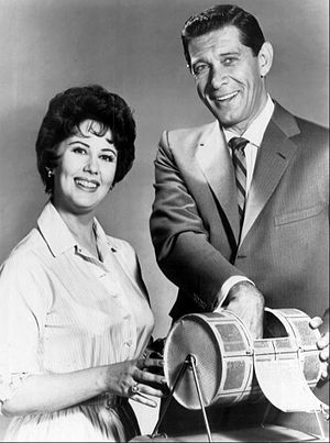 Jan Murray - With Micki Marlo on The Jan Murray Show (1961)