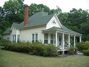 National Register of Historic Places listings in Clay County, Florida - Image: Middleburg FL Budington House 01