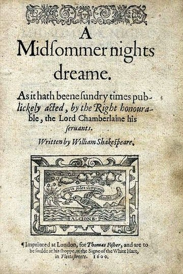 Midsommer nights dreame 1600 Quarto title page.jpg