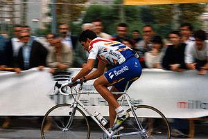 Miguel Induráin - Miguel Induráin in the 1996 Criterium Ciutat de L'Hospitalet