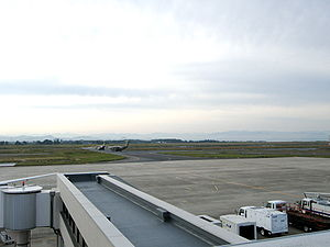 Matsue incident - Miho air base, in 2008.