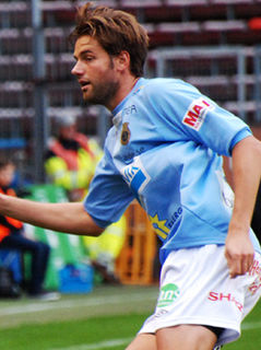 Mikael Dahlberg Swedish footballer