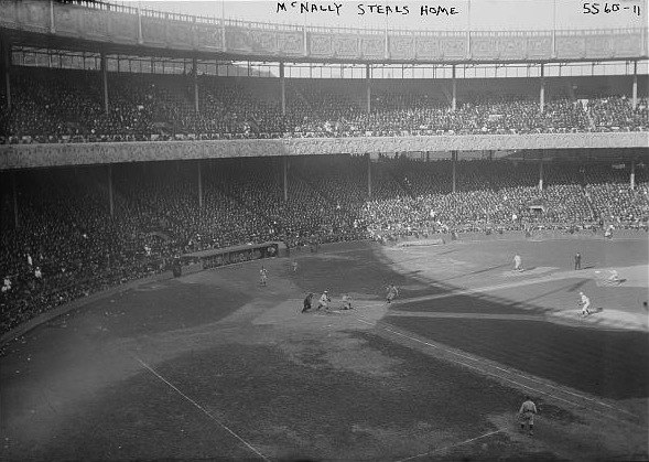 Mike McNally Steals home 1921 World Series