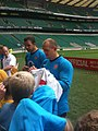 Mike Tindall 2009 08 12 2 Whitton twickenham england training.jpg