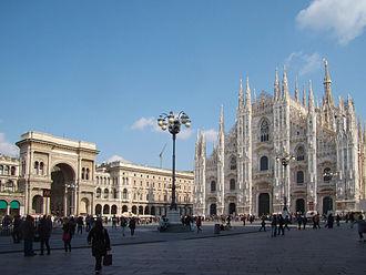 Zone 1 of Milan - Piazza del Duomo