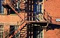 Mill fire escape - geograph.org.uk - 1709147.jpg
