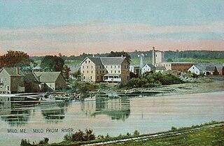 Milo (CDP), Maine CDP in Maine, United States