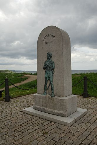 Ludvig Brandstrup - Image: Mindesmærke for Peter Buhl