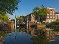"Mirror - Sint Remeynsbrug, gebouw ""De Lichtfabriek"" en City Hotel Gouda - Hoge Gouwe - Gouda (18717633445).jpg"