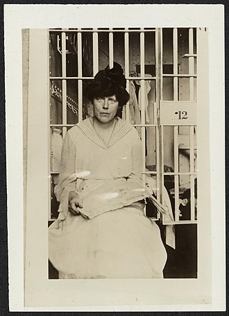 Lorton Reformatory - Suffragist Lucy Burns imprisoned at Occoquan Workhouse, 1917