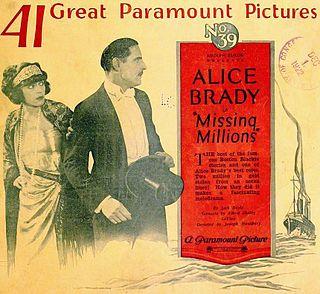 <i>Missing Millions</i> 1922 film