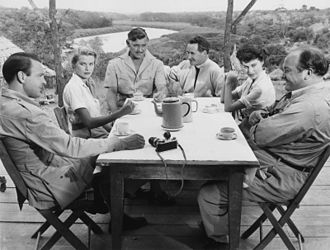Grace Kelly - The cast of Mogambo (1953)