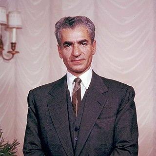 Mohammad Reza Pahlavi 20th-century Shah of Iran