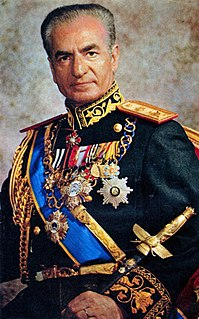 Mohammad Reza Pahlavi the last shah of Iran