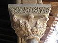 Moissac (82) Abbaye Saint-Pierre Cloître Chapiteau 19.JPG