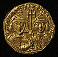 Monete d'oro di giustiniano II e tiberio IV, 705-711, 02, 8.jpg