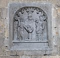 Mons St Waltrude Church tombstone 02.JPG