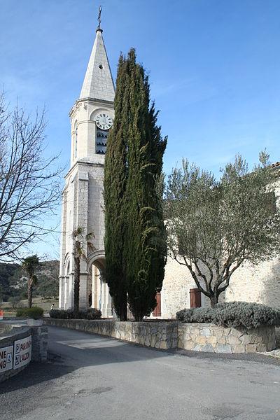 Montoulieu (Hérault) - église de l'Invention-de-Saint-Étienne