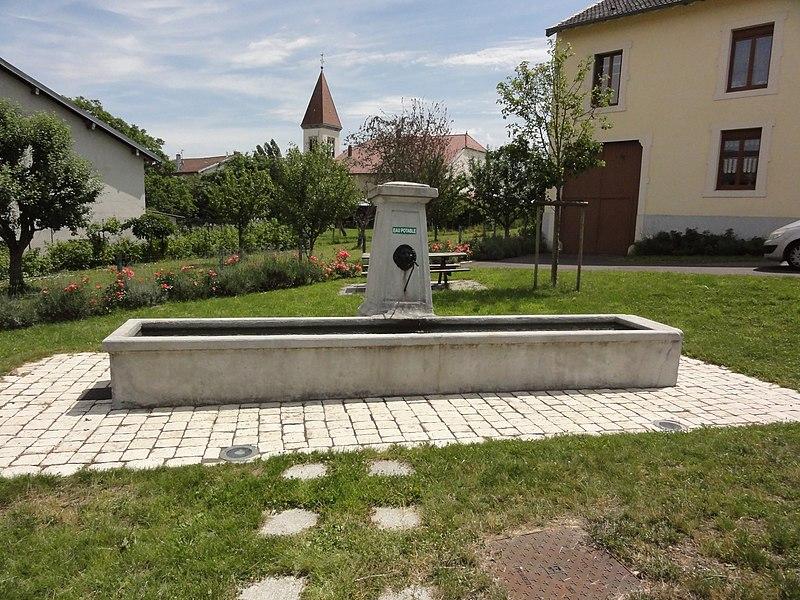 Montreux (M-et-M) fontaine