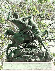 Theseus Fighting Bienor