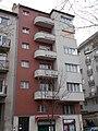 Monument building. ID.14024 built in 1935, Bauhaus style. Kék golyó street 4, Budapest 12.JPG
