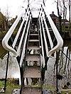 foto van Voetgangersbrug over het Kanaal Baflo-Mensingeweer (hoogholtje)