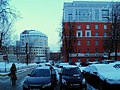 Moscow, Krzhizhanovskogo Street 14 and 16 office block.jpg