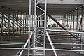 Moscow, temporary stage in Gorky Park - raised floor supports (42681748865).jpg